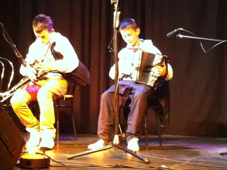 Kieran and Oisin Byrne