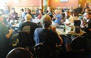 Jeremy Sibson: In session at Bottom Pub, Cygnet Folk Festival