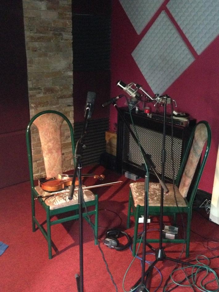 Latest recording session
