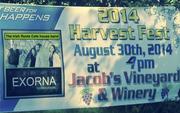 2014 harvest fest Jacobs Vineyards