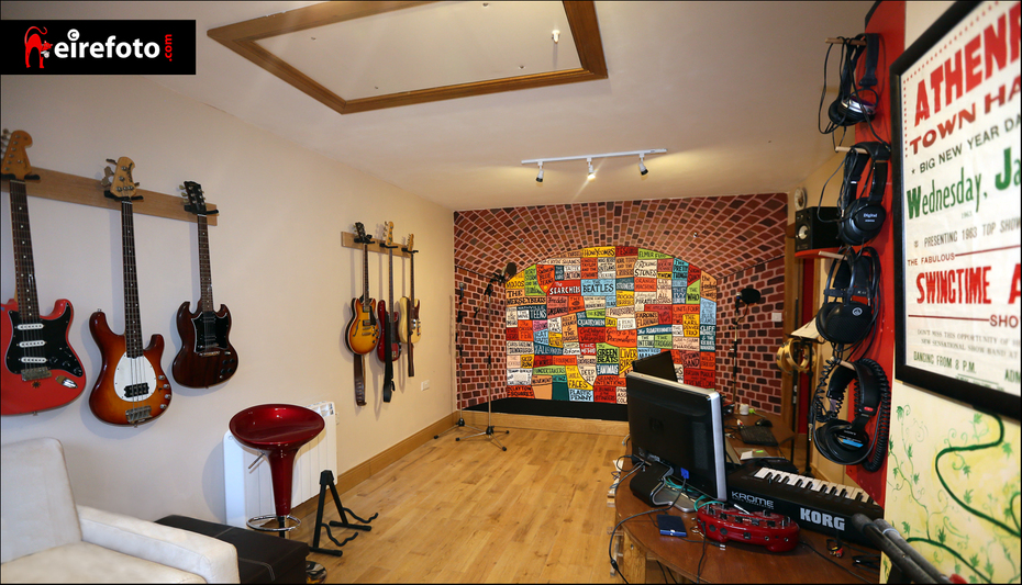The Croft recording studio