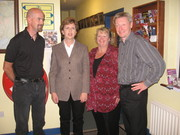 July 2006 Glencolmcille with our president Mary McAleese