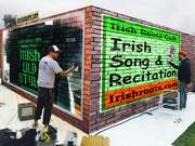 Wall Art for the Irish Roots Cafe