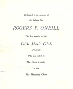 O'Niell's 1001 Tunes Pictures.