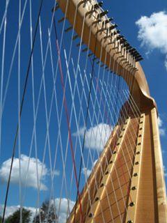 chromatic harp made by Henrik Schupp