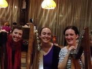 A 3 harp session at Bonn Oir