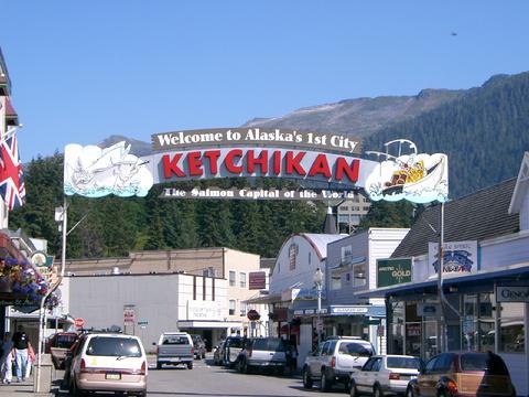 World famous Ketchikan sign