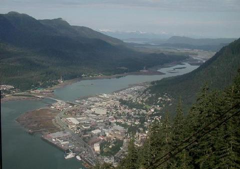 Gastineau Channel & Juneau