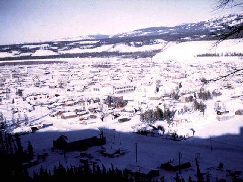 Whitehorse, Yukon Territory circa 1950