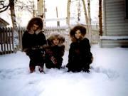Thomas kids in parkas