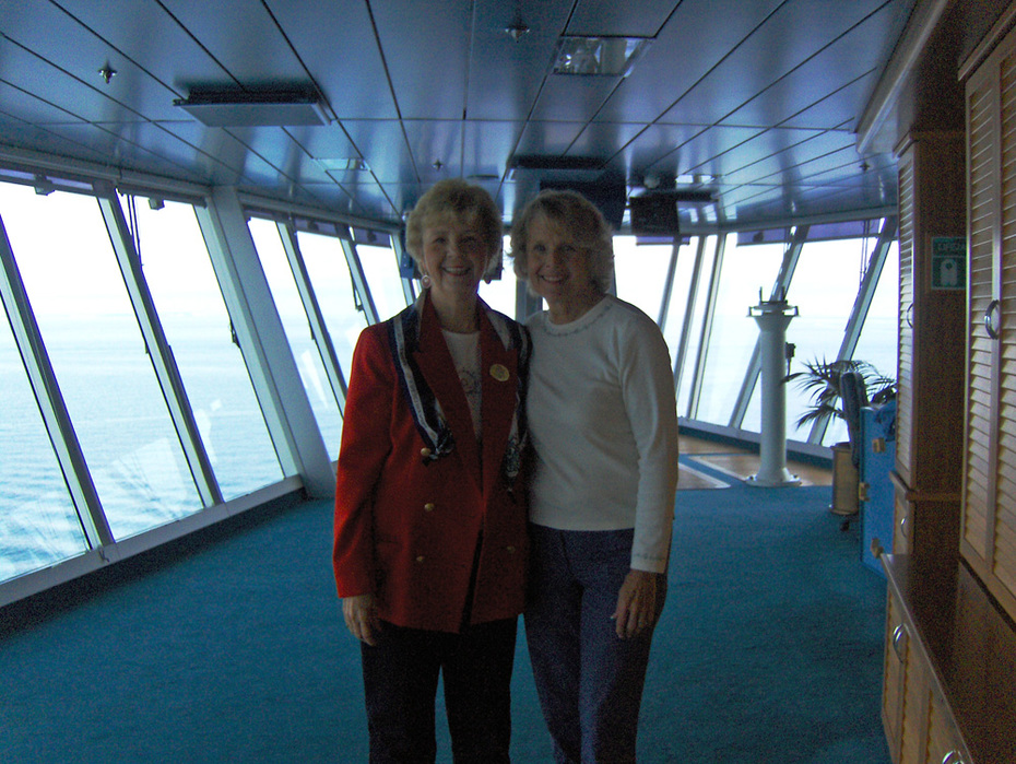 Marilyn Faber & I on Star bridge 2009