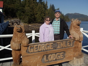 Mike & Kathy Suiter at Ketchikan's George Inlet Lodge