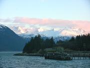 Haines ferry dock