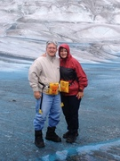 On the Medlelson Glacier