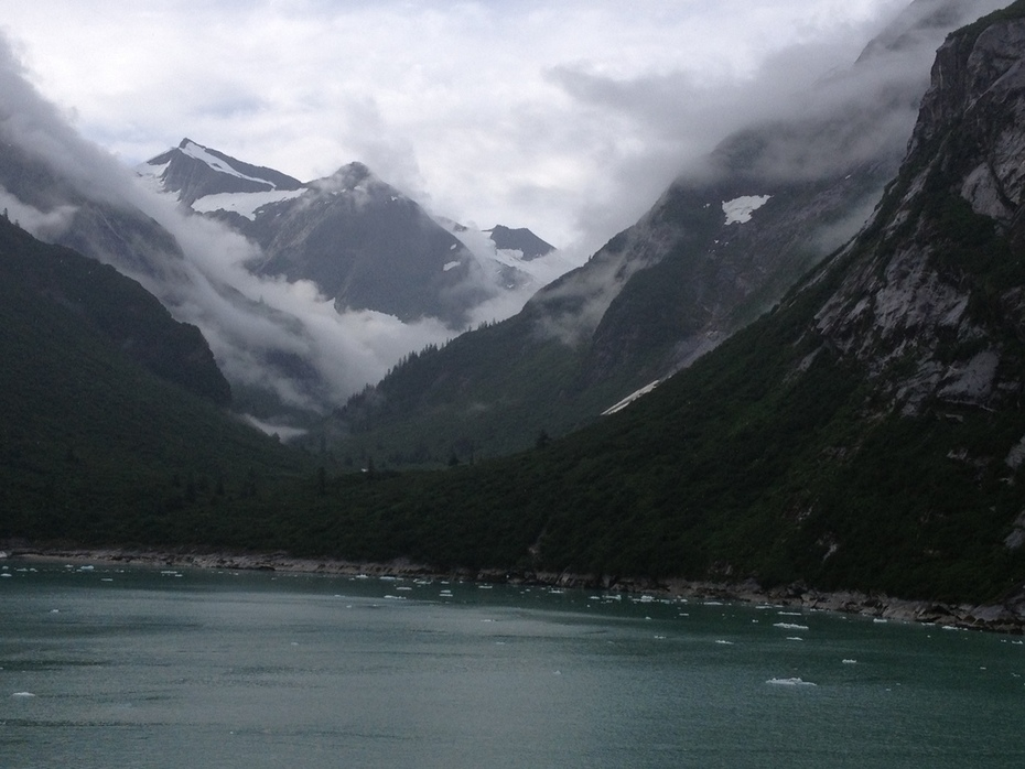Heading into the fiord