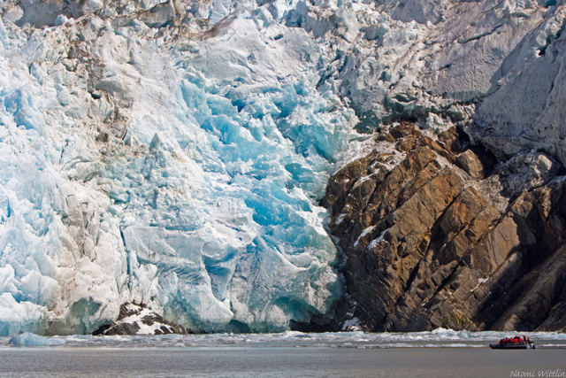 Sawyer Glacier perspective