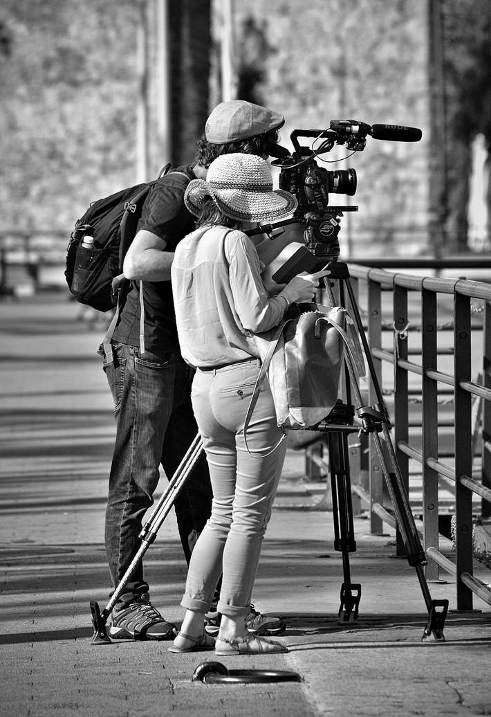 La ragazza del videomaker