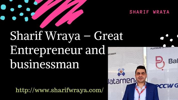 Sharif Wraya - Member of policy committee