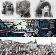 """นิทรรศการภาพวาด """"ฮานอย ยามเหมันต์"""" (Hanoi in Spring)"""