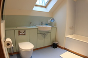 Homelands luxury self-catering cottages scotland - Drummochy twin or double room - bathroom