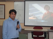 Soumil from D-Link at MITCOE,Pune.