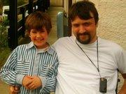 tom mon plus jeune fils et moi