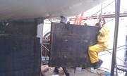 Rudder installation 14-Mar-12