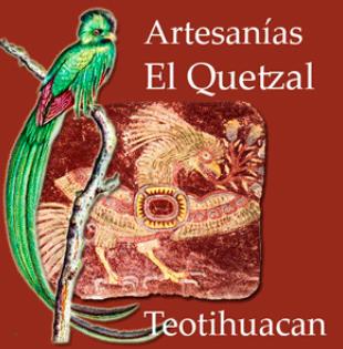 Tienda de Artesanías El Quetzal en Teotihuacan en Edo. Mex.