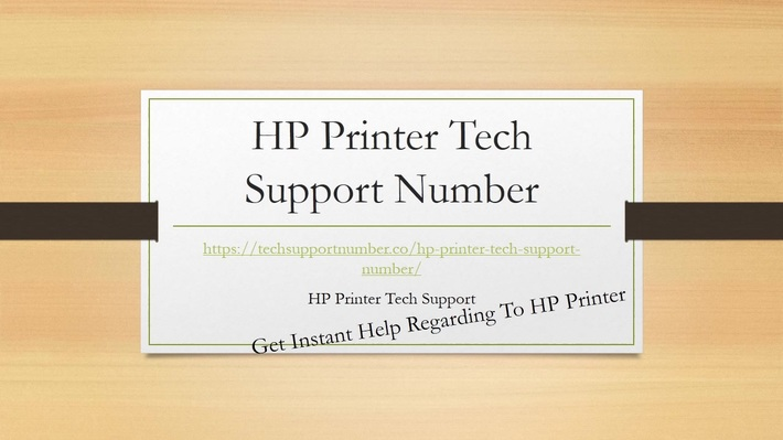 HP-Printer-Tech-Support-Number