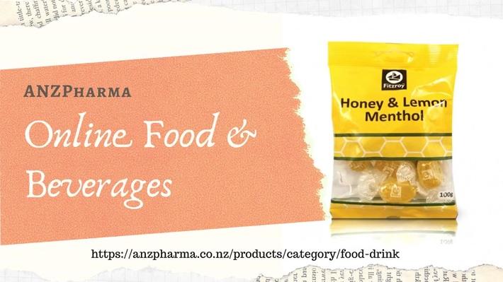 buy affordable Online Food & Beverages - ANZPharma