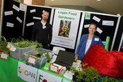 Logan Food Gardeners stalls