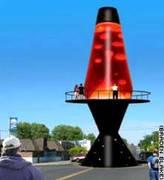 huge lavalamp