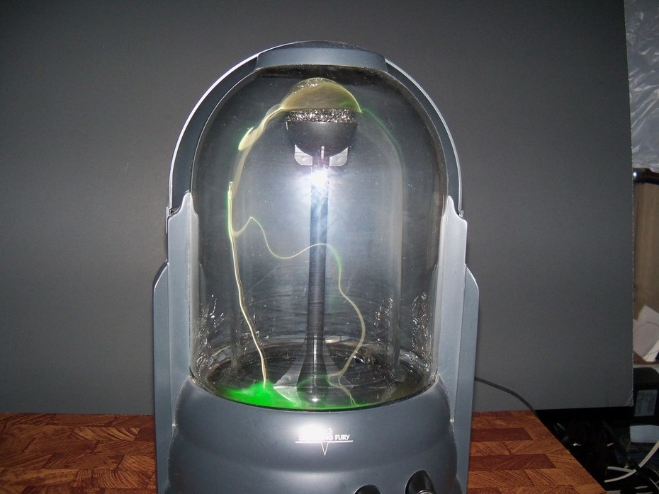Very Green Original Realistic Lightning Fury For Sale