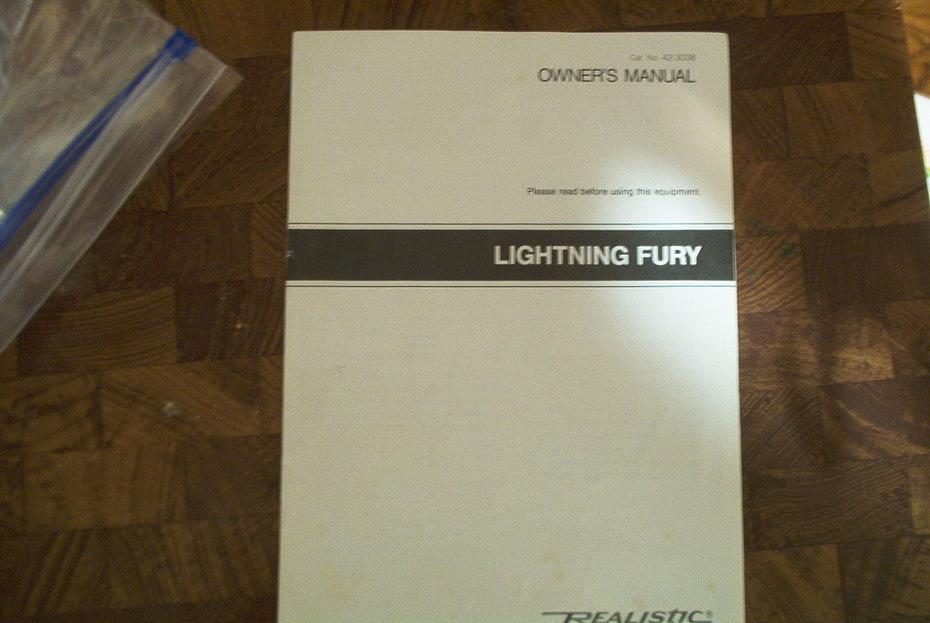 Very Green Original Realistic Lightning Fury For Sale