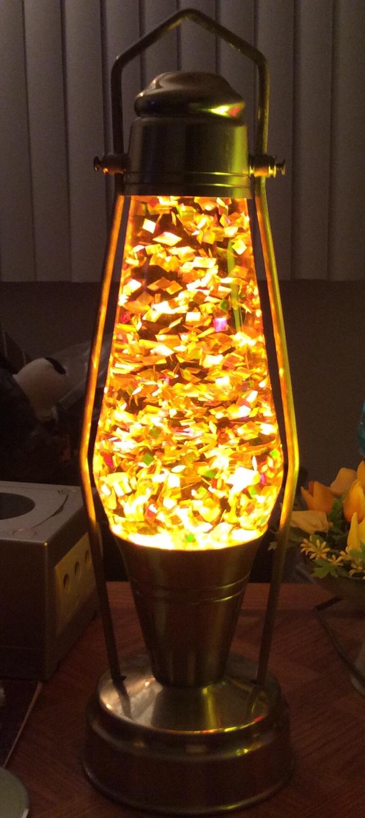 Glitter Coachlite Lantern