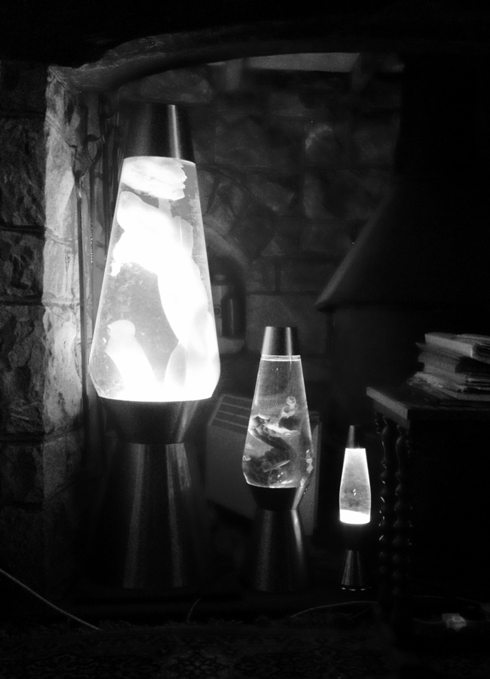 Lava Lamp Fireplace
