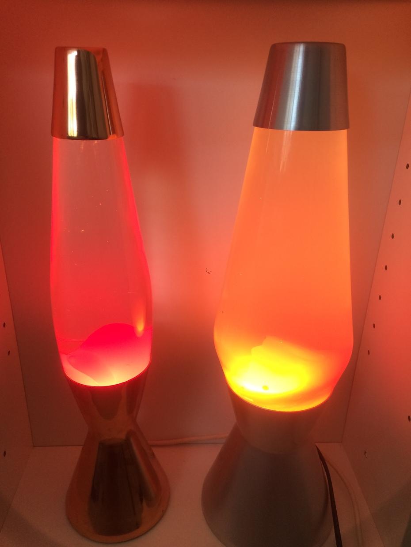 My Crestworth lamps Copper Astro Baby and Alu Astro 1