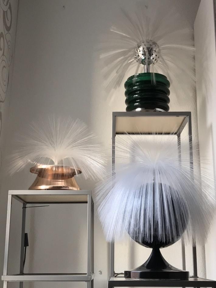 Fibre optic lamps 01