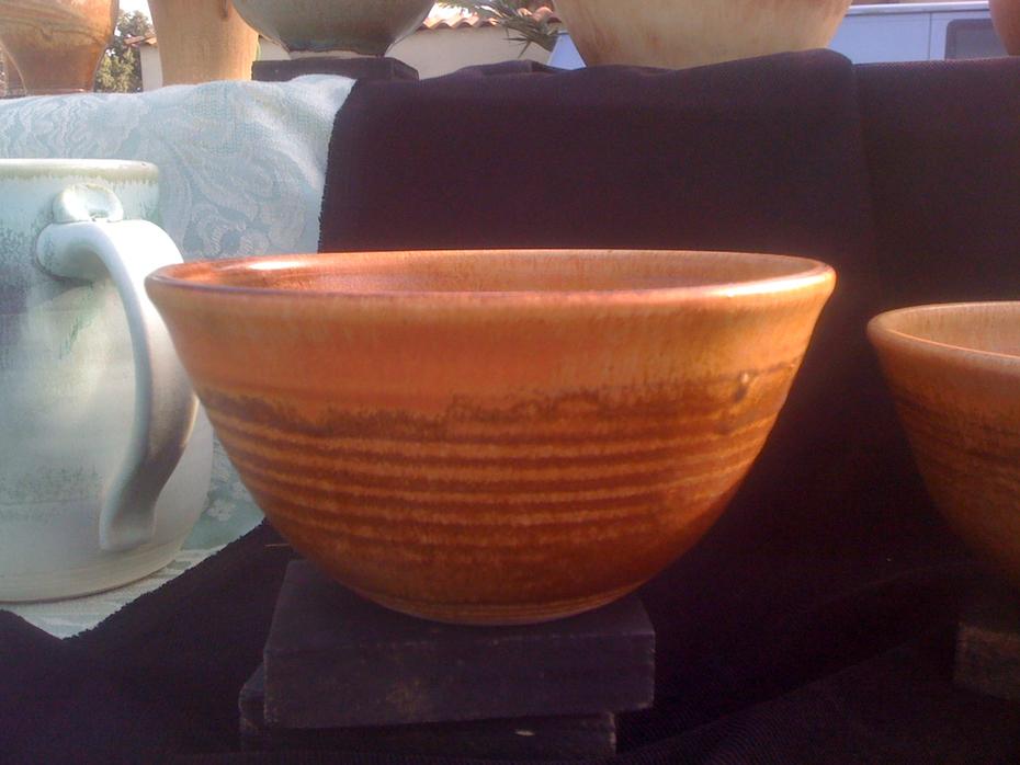 Cognac Gold Soup:Cereal Bowl