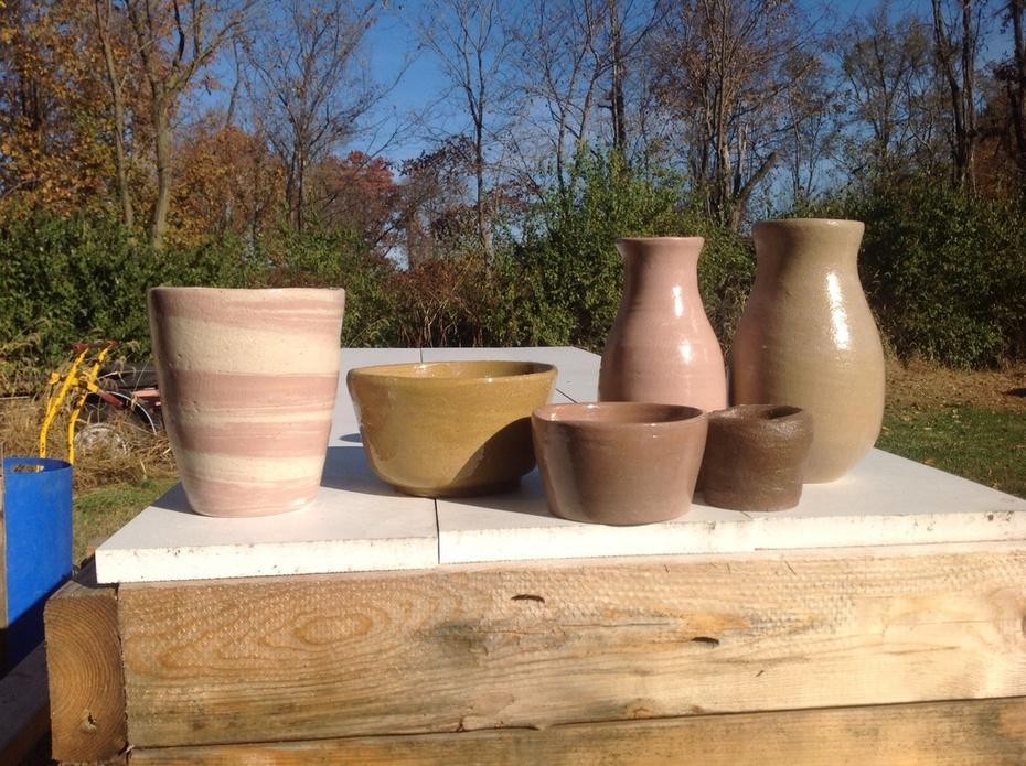 Natural stoneware colors