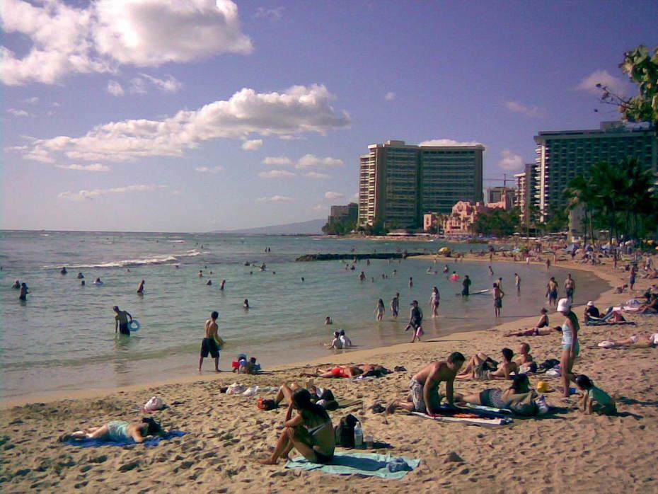 Hawaian Beach Front