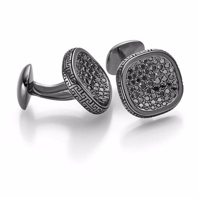 Cufflinks 3D design by wieland rochel 3d jewelry design and superior jewelry development gem diamond setting gemstonesetter diamond setter jewelry manufacture