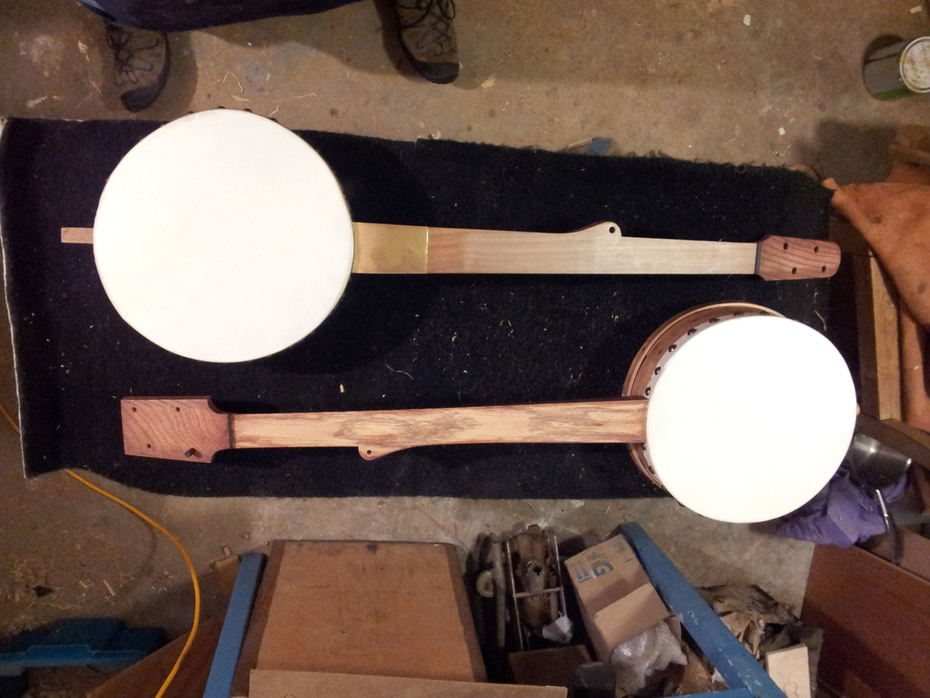 2 tackhead grainmeasure banjos almost complete