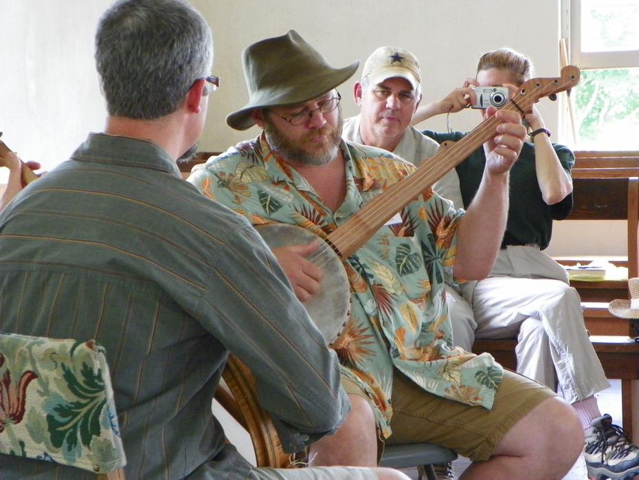 Robert Hooker plays the Corn Shuckin' Jig with Greg