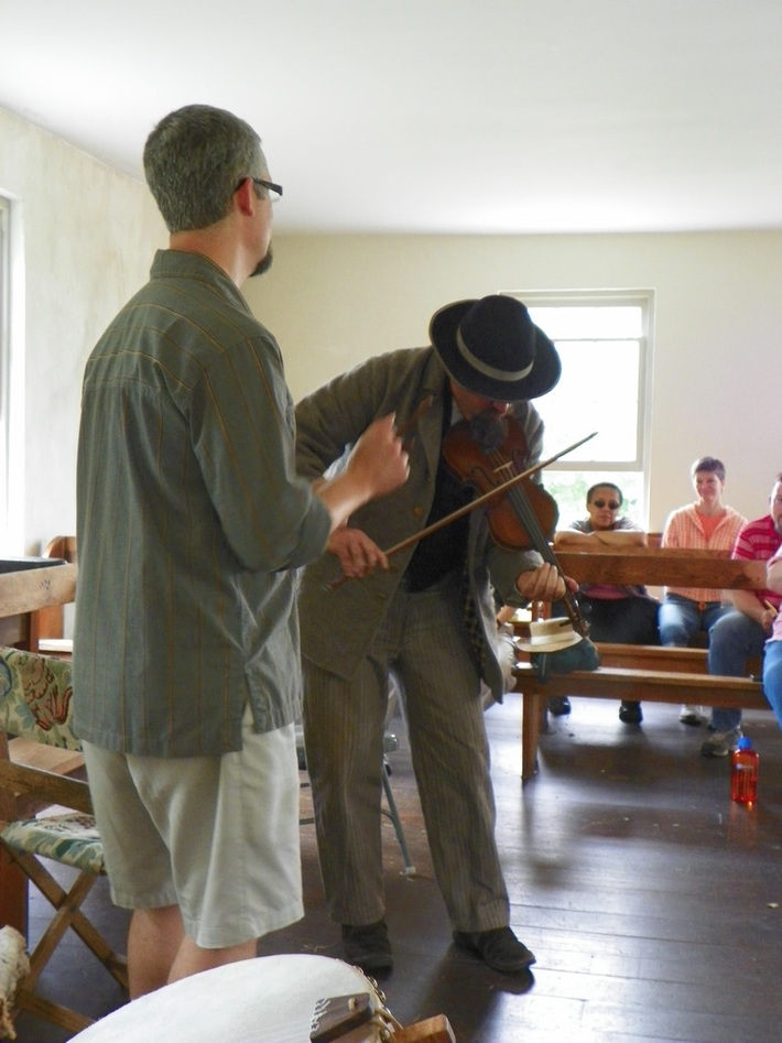 Greg & Jeff at the Dunker Church