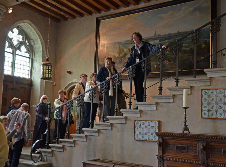 tijdelijk museum stadhuis Middelburg