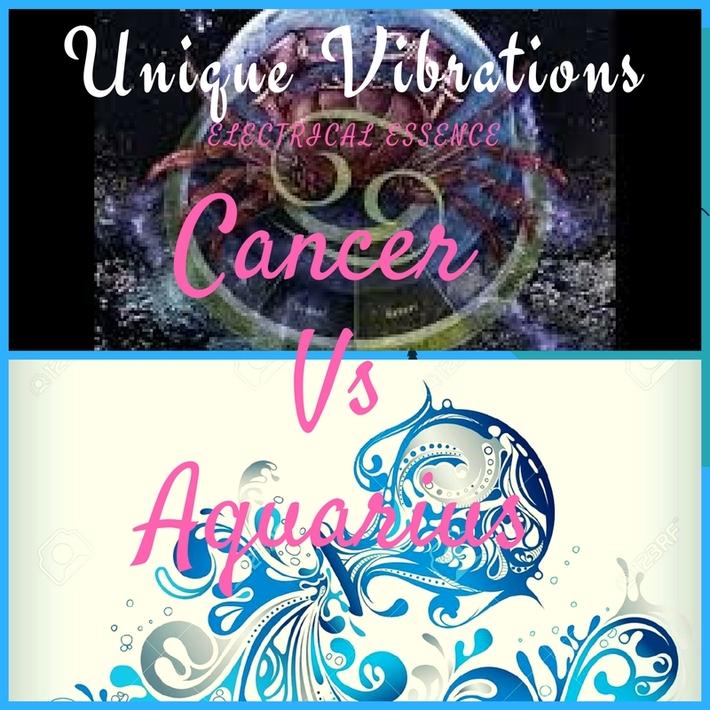 Cancer Vs Aquarius Episode on Unique Vibrations