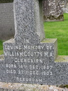 Coutts Gravestones