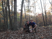 Family Photo on the trail