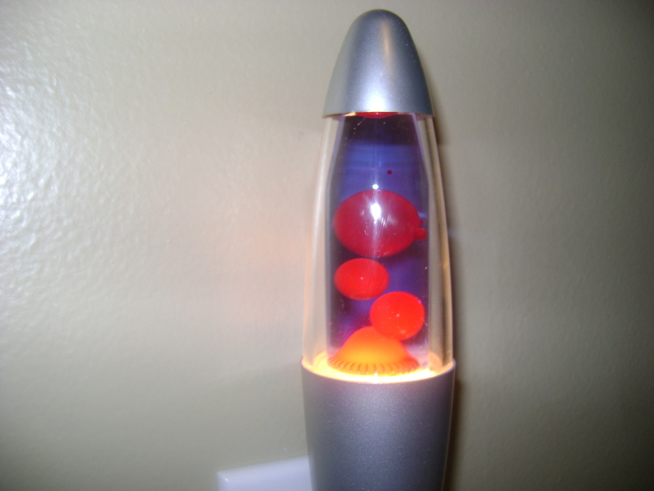 mini lava lamp